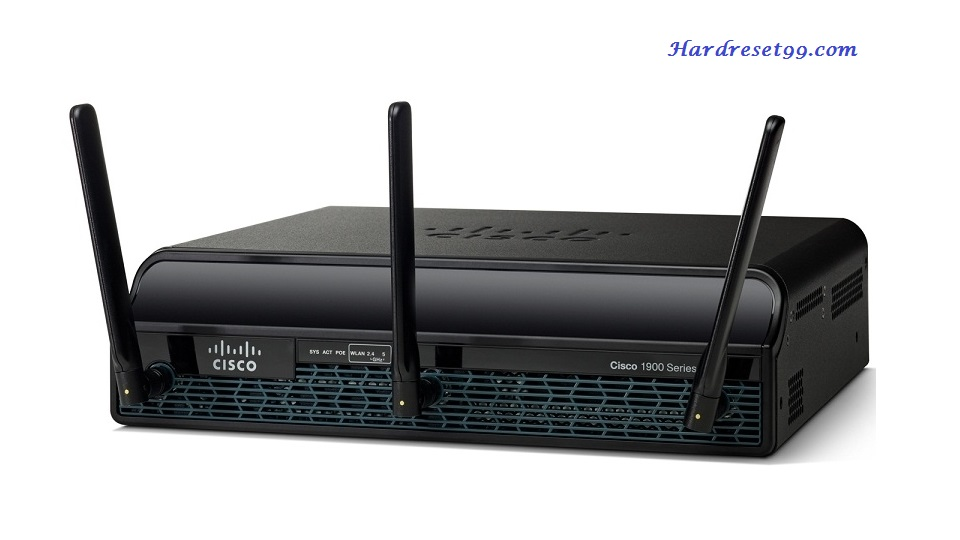 Cisco 1941W Router - How to Reset to Factory Defaults Settings