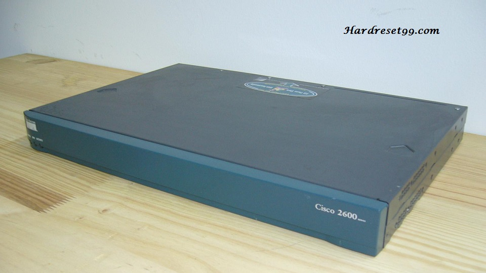 Cisco 2600 Router - How to Reset to Factory Defaults Settings