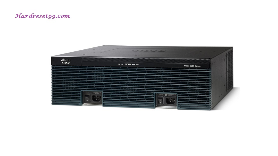 Cisco 3900 Router - How to Reset to Factory Defaults Settings