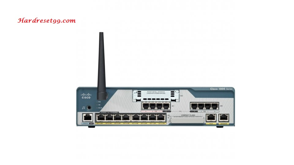 Cisco 877 Router - How to Reset to Factory Defaults Settings