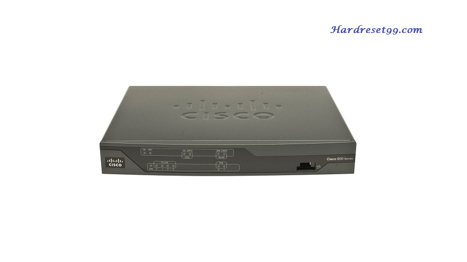 Cisco 887VAG Router - How to Reset to Factory Defaults Settings