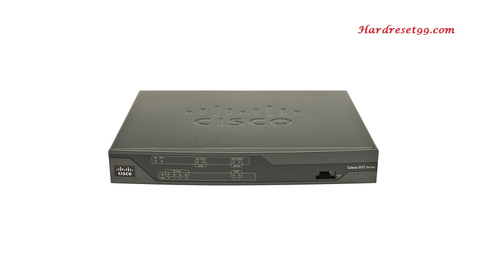 Cisco 887VAW Router - How to Reset to Factory Defaults Settings