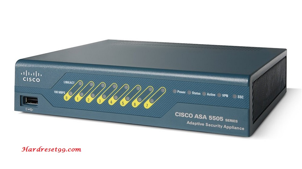 Cisco ASA5505 Router - How to Reset to Factory Defaults Settings