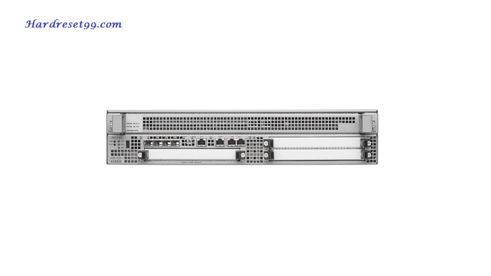Cisco ASR 1002X Router - How to Reset to Factory Defaults Settings