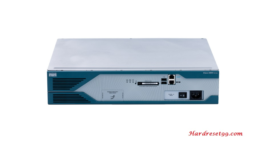 Cisco C2851 Router - How to Reset to Factory Defaults Settings