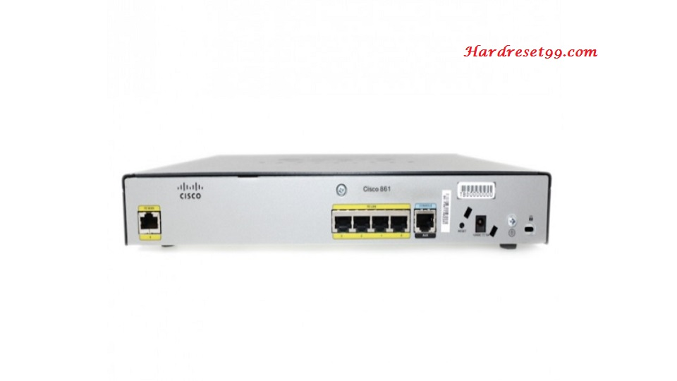 Cisco C887VA Router - How to Reset to Factory Defaults Settings