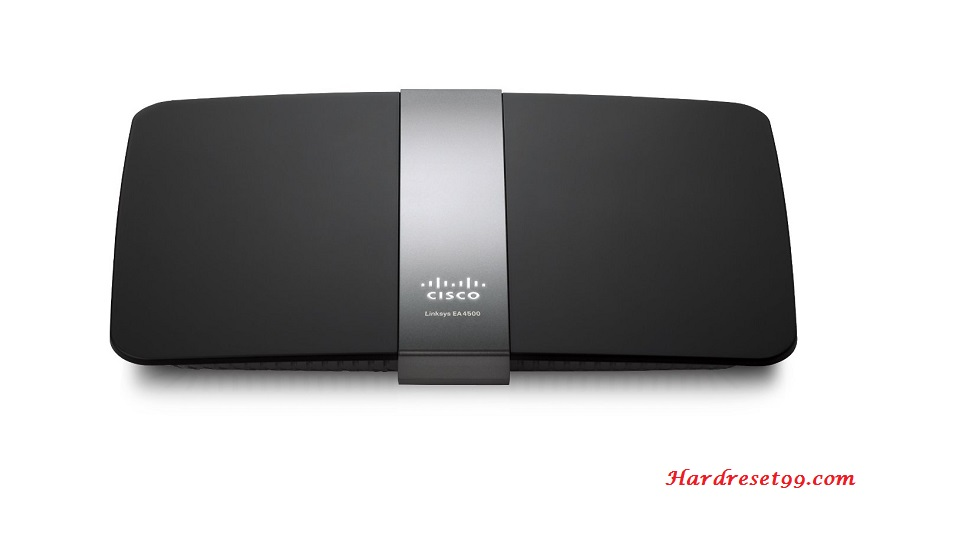Cisco Ea4500 Router - How to Reset to Factory Defaults Settings