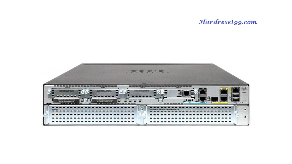 Cisco FL-C2921 Router - How to Reset to Factory Defaults Settings