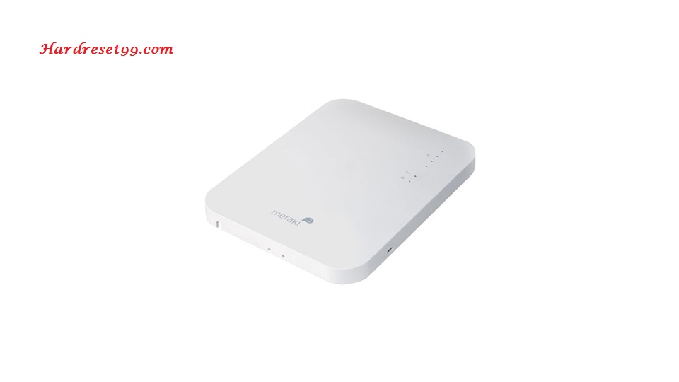 Cisco Meraki MR26 Router - How to Reset to Factory Defaults Settings