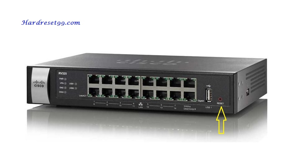 Cisco S26CP-12322 Router - How to Reset to Factory Defaults Settings