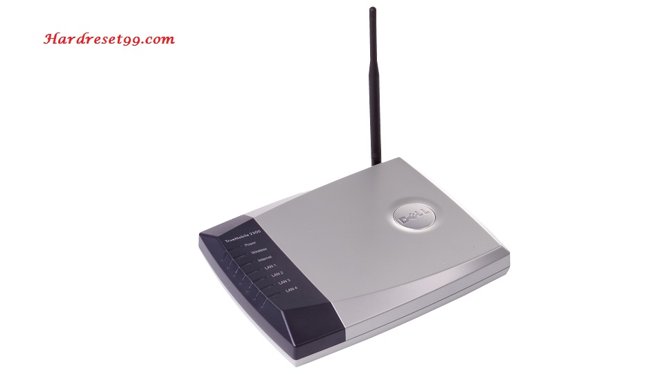 Dell TrueMobile-2300 Router - How to Reset to Factory Settings