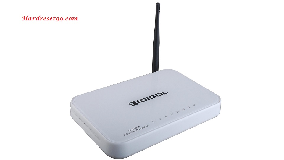 Digisol DG-BR4000N Router - How to Reset to Factory Settings