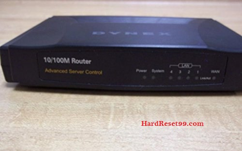 Dynex DX-E402 Router - How to Reset to Factory Settings