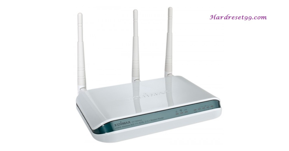 Edimax AR-7265WnA Router - How to Reset to Factory Settings
