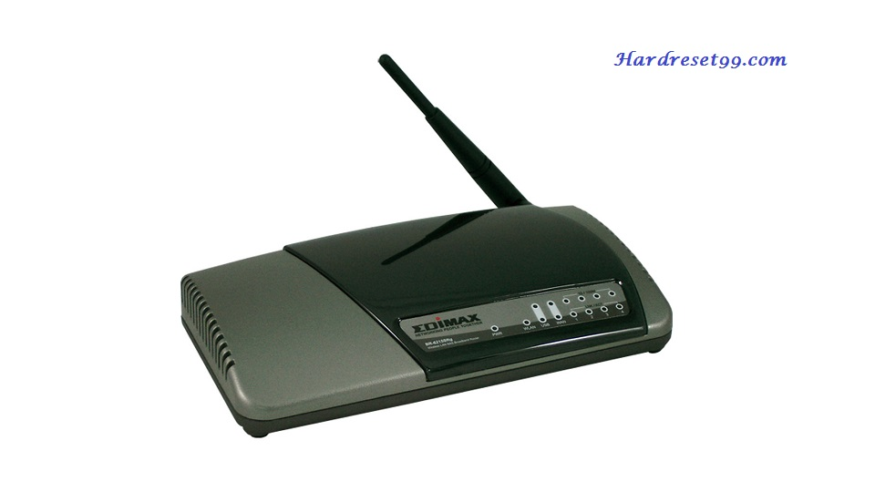Edimax BR-6215SRG Router - How to Reset to Factory Settings