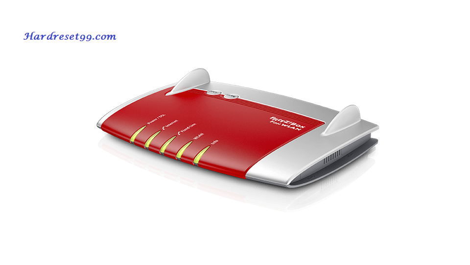FRITZ WLAN-7340 Router - How to Reset to Factory Settings