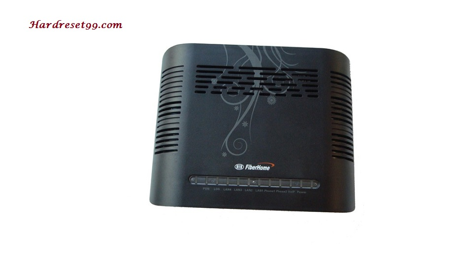 FiberHome AN5506-04-F2 Router - How to Reset to Factory Settings