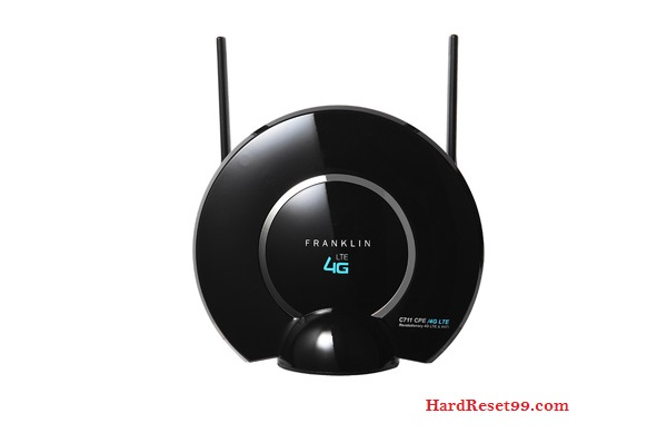 Franklin Wireless M774 Router - How to Reset to Factory Settings