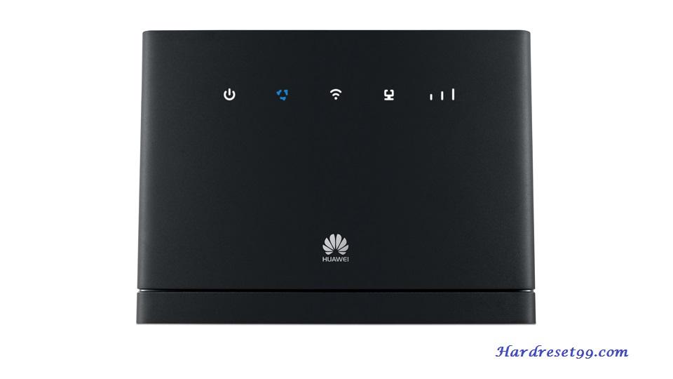Huawei B315s-22 Zain Router - How to Reset to Factory Settings