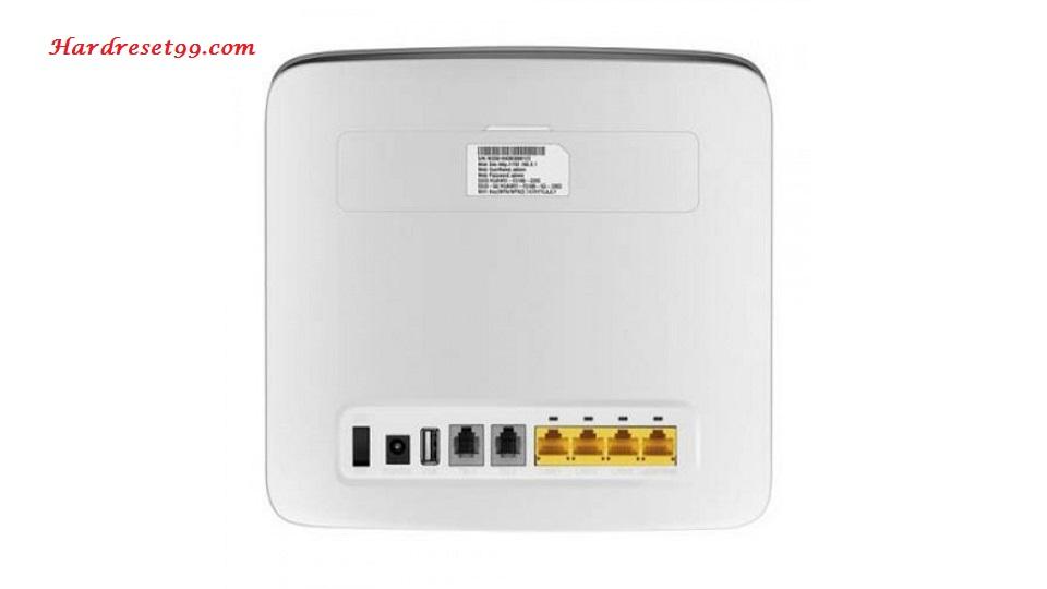 Huawei B593 Zain Router - How to Factory Reset