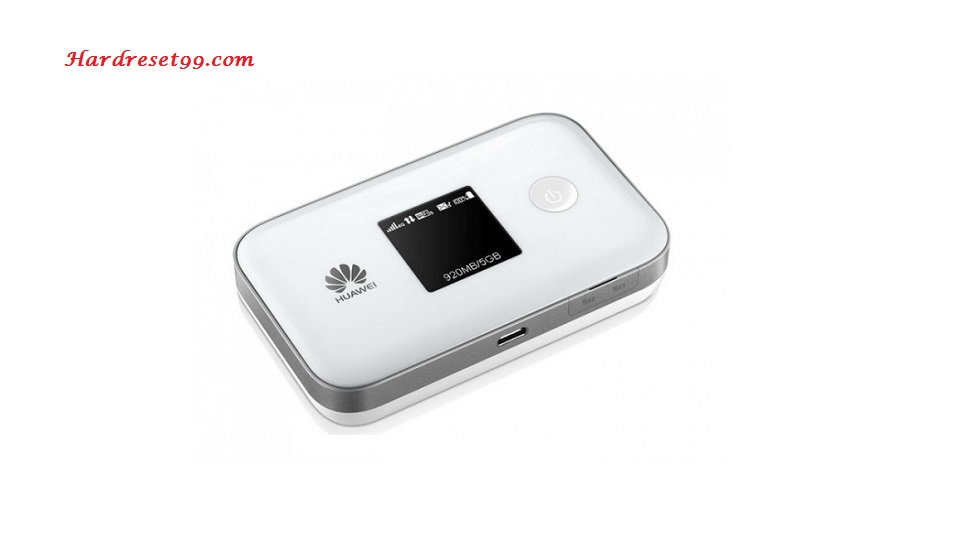 Huawei E5577s Router - How to Reset to Factory Settings