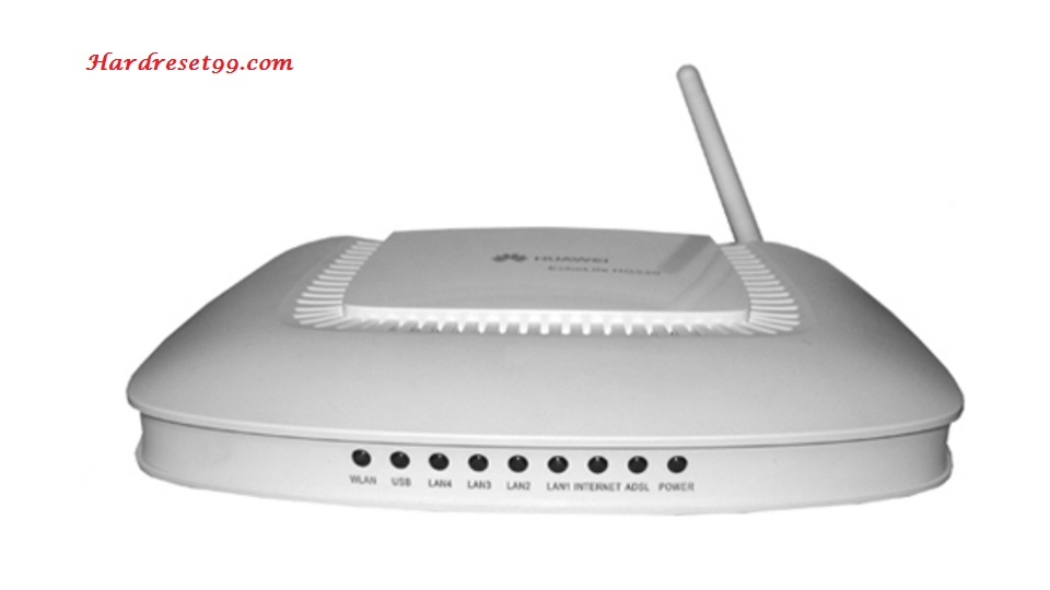 Huawei EchoLife-HG520i Router - How to Reset to Factory Settings