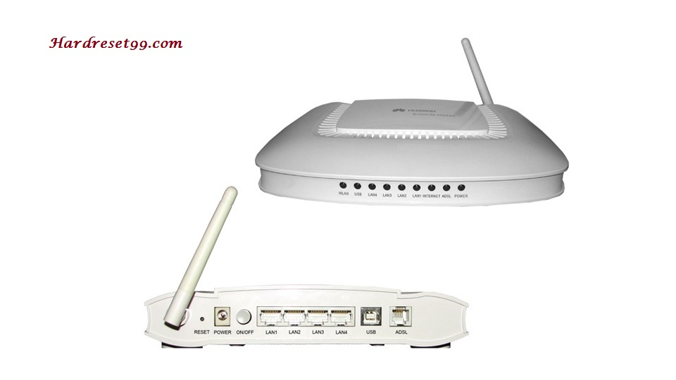 Huawei Echolife-HG520b Router - How to Reset to Factory Settings