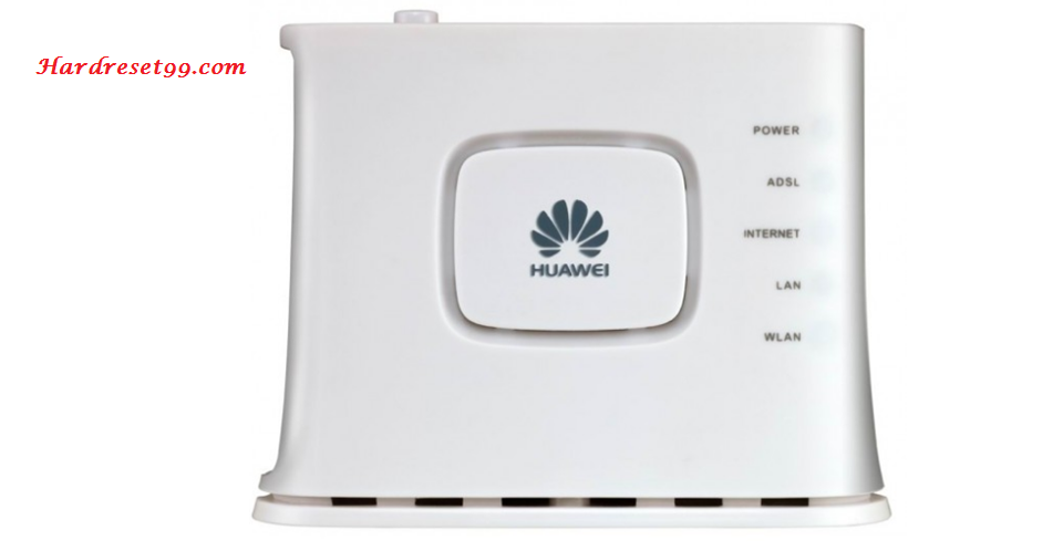 Huawei HG255s Router - How to Reset to Factory Settings