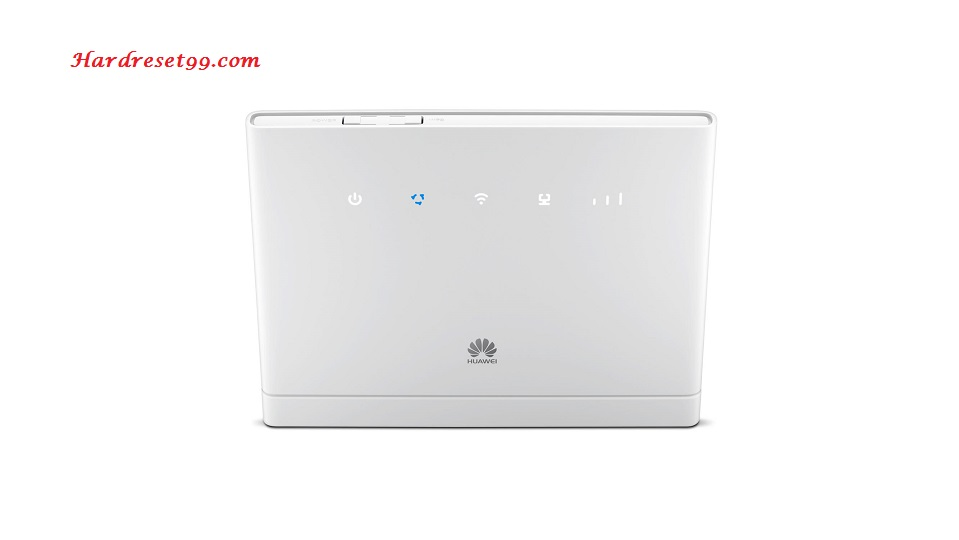 Huawei HG658 Router - How to Factory Reset