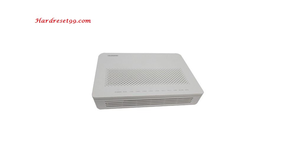 Huawei HG8245A Router - How to Factory Reset