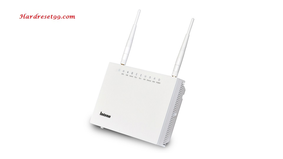 Inteno FG500 Router - How to Reset to Factory Settings