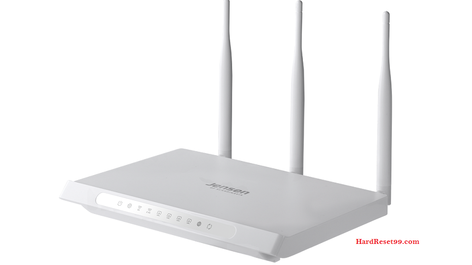 Jensen-Scandinavia AirLink-10006 Router - How to Reset to Factory Settings