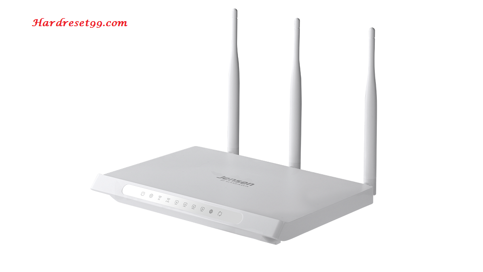 Jensen-Scandinavia Airlink-59300 Router - How to Reset to Factory Settings
