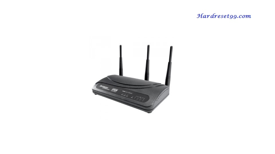 Jensen-Scandinavia WebLink-39300 Router - How to Reset to Factory Settings