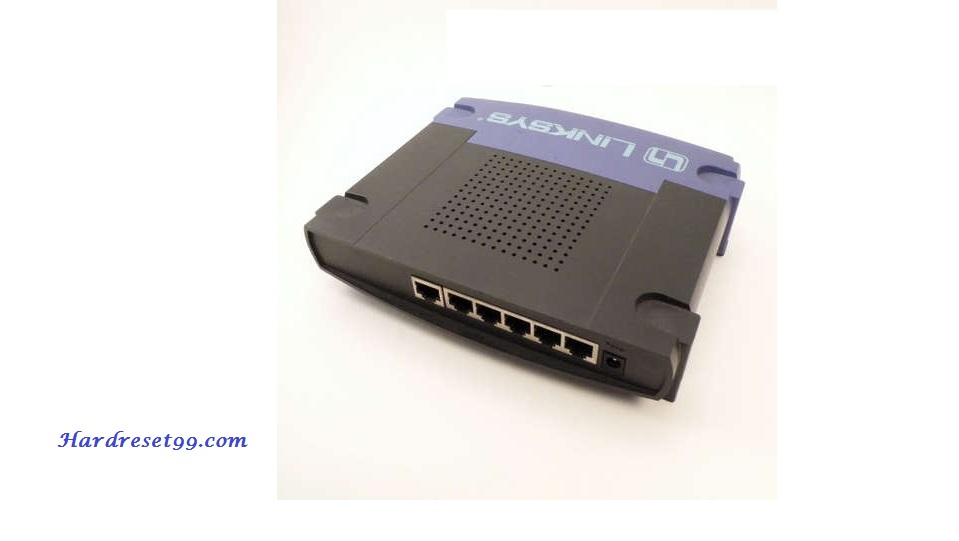 Linksys BEFSX41v1.44 Router - How to Reset to Factory Settings