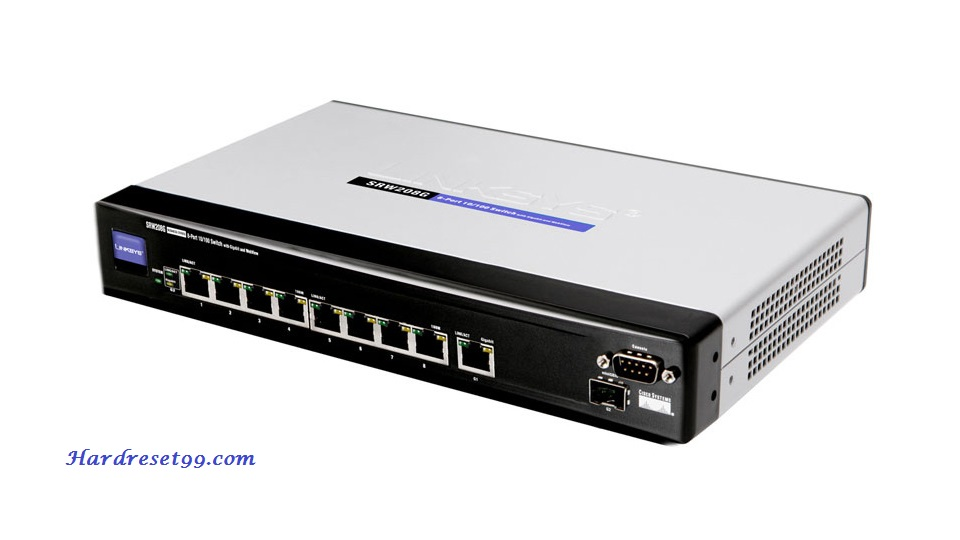 Linksys BEFW11S4v4-1.52 Router - How to Reset to Factory Settings
