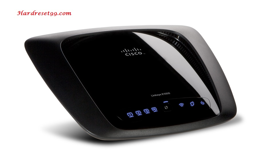 Linksys E1000 Router - How to Reset to Factory Settings