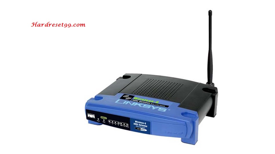 Linksys WAG54G Router - How to Reset to Factory Settings