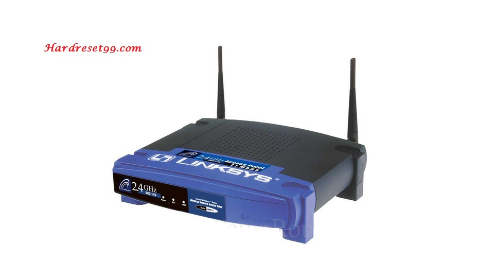 Linksys WAP11v1.07 Router - How to Reset to Factory Settings