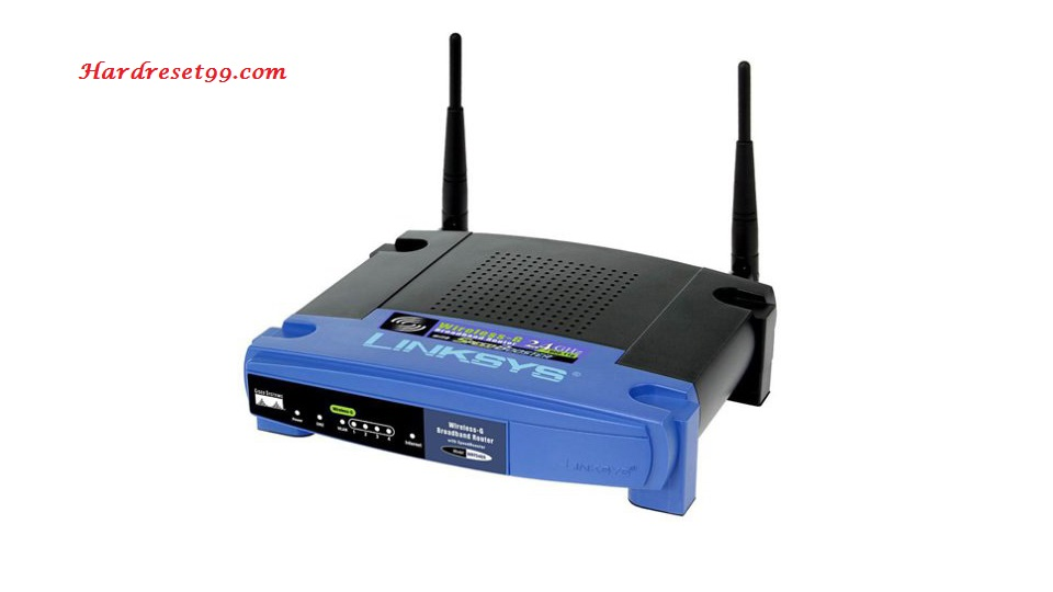Linksys WAP54GP Router - How to Reset to Factory Settings