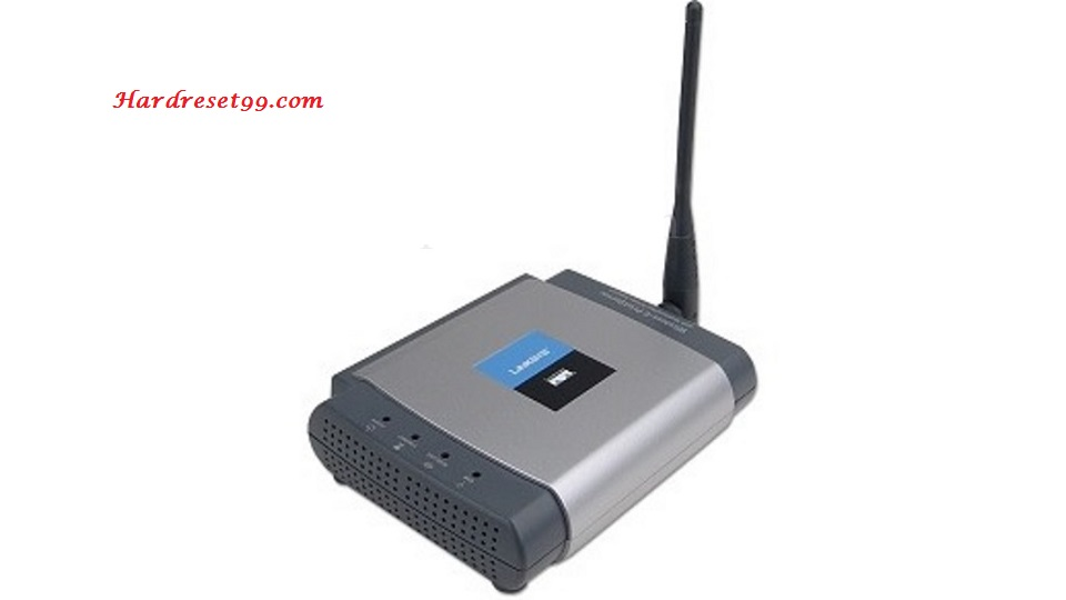 Linksys WPSM54Gv1017 Router - How to Reset to Factory Settings