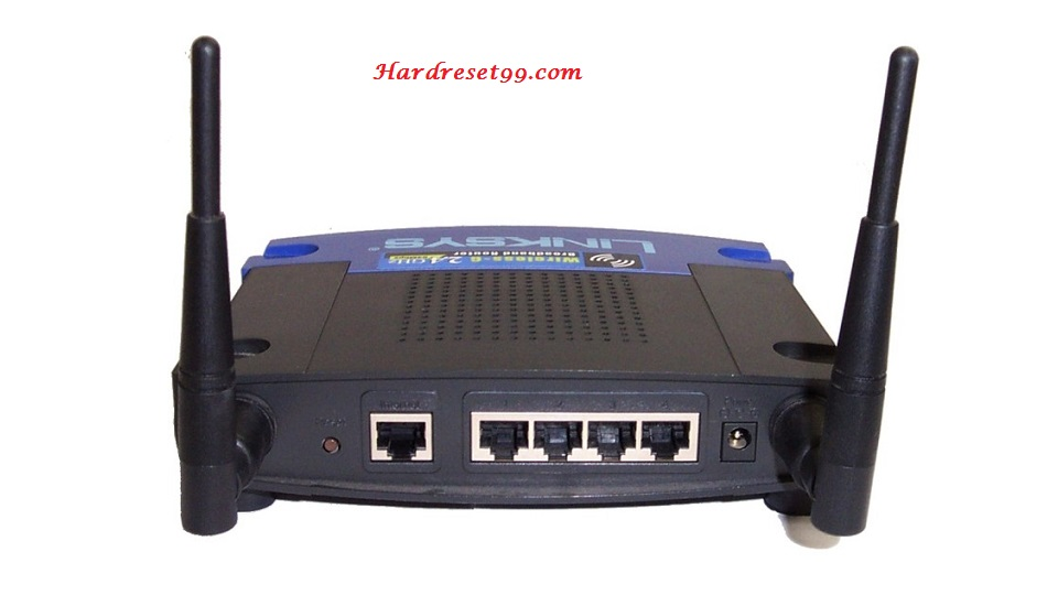 Linksys WRT54GS Router - How to Reset to Factory Settings