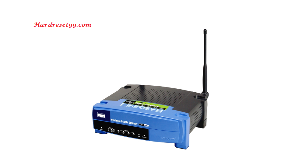 Linksys WRT54GX2 Router - How to Reset to Factory Settings