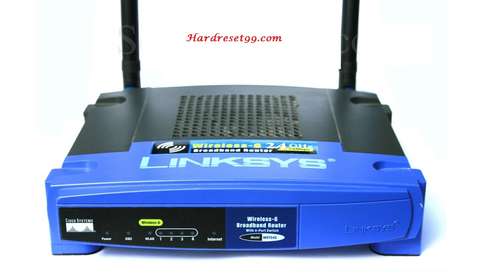 Linksys WRT54Gv3 Router - How to Reset to Factory Settings