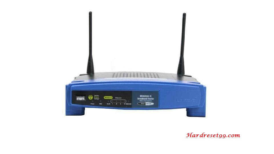 Linksys WRT54Gv5 Router - How to Reset to Factory Settings