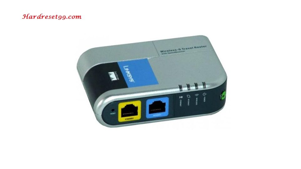 Linksys WTR54GS Router - How to Reset to Factory Settings