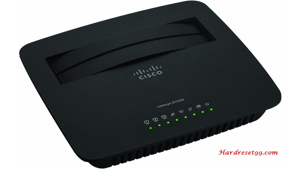 Linksys X1000 Router - How to Reset to Factory Settings