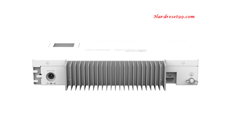 MikroTik CCR1009 Router - How to Reset to Factory Settings