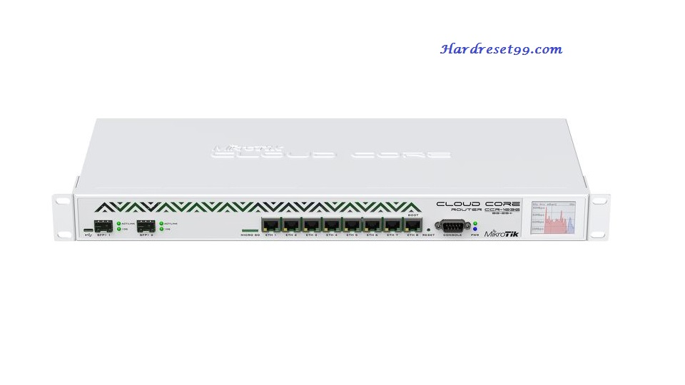 Mikrotik 1036 Router - How to Reset to Factory Settings