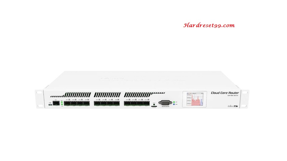 Mikrotik CCR1016 Router - How to Reset to Factory Settings
